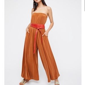 FREE PEOPLE HEIRESS jumpsuit Jumper wide leg S/M/L